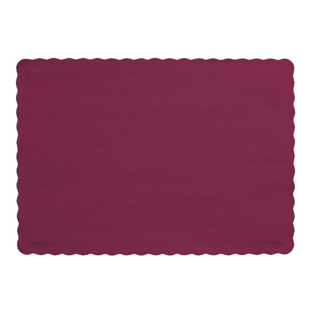 BURGUNDY PLACEMAT 9.25X13.25(1M)