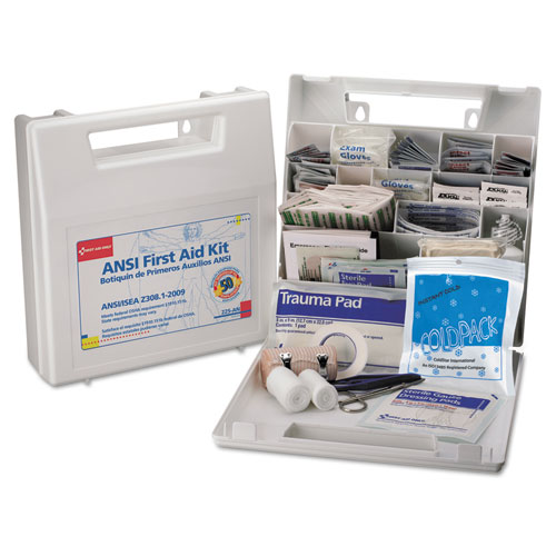 FIRST AID KIT FOR 50 PEOPLE, ANSI CLASS A 183 PIECES