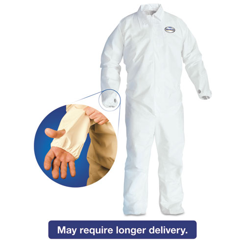 KCC KLEENGURARD A40 BREATHABLE BACK COVERALL WITH