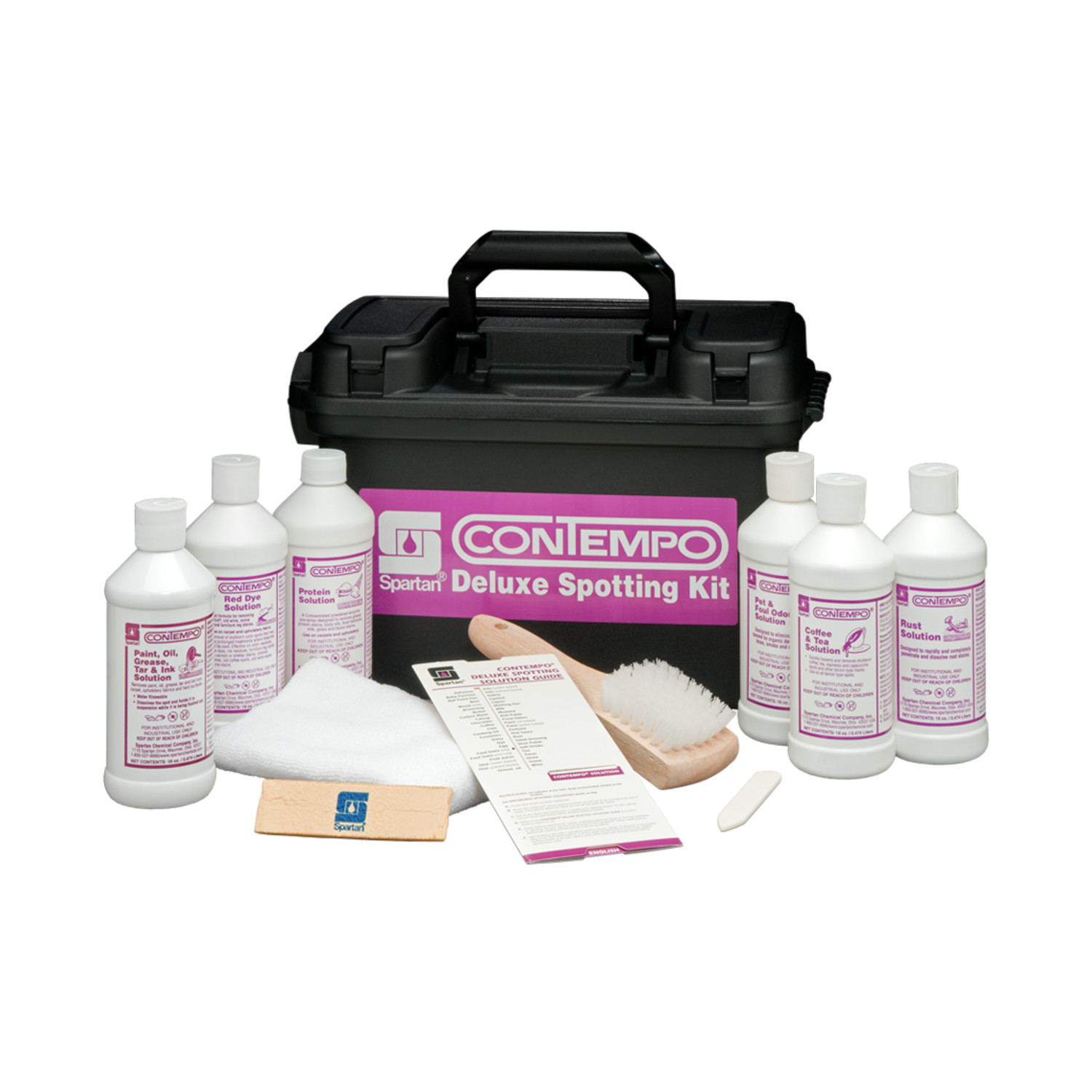 CONTEMPO DELUXE SPOTTING KIT 6/16OZ BTLS