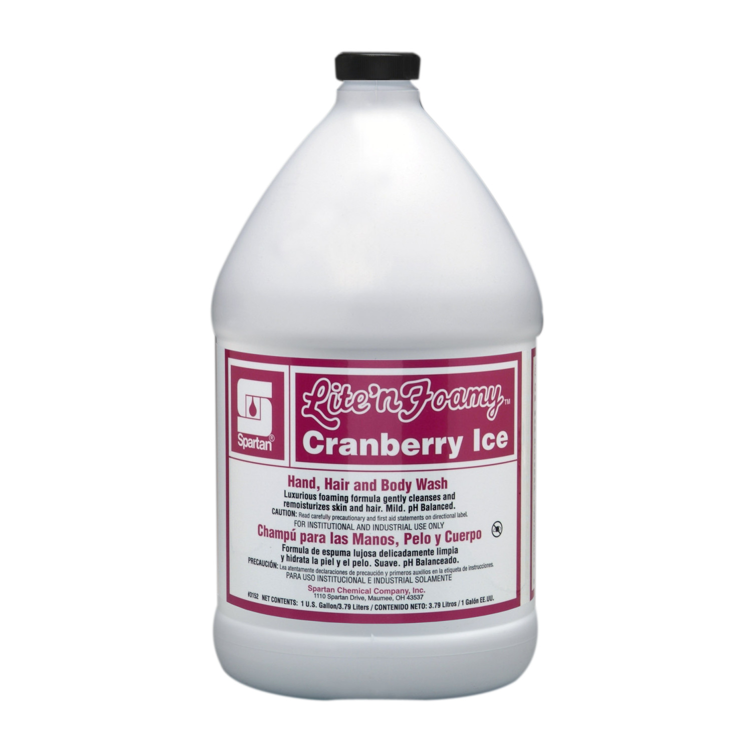 LITE N FOAMY CRANBERRY ICE FOAMING HAND SOAP(4)#3152