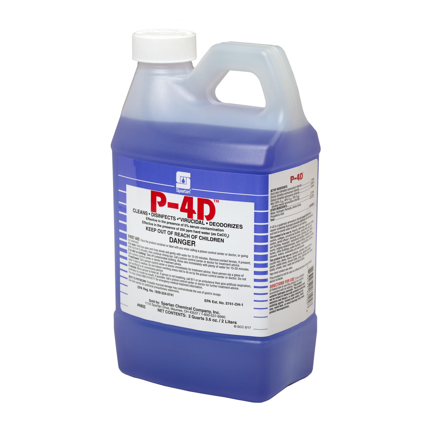 COG CLEAN BY 4D DISINFECTANT PEROXY 4D