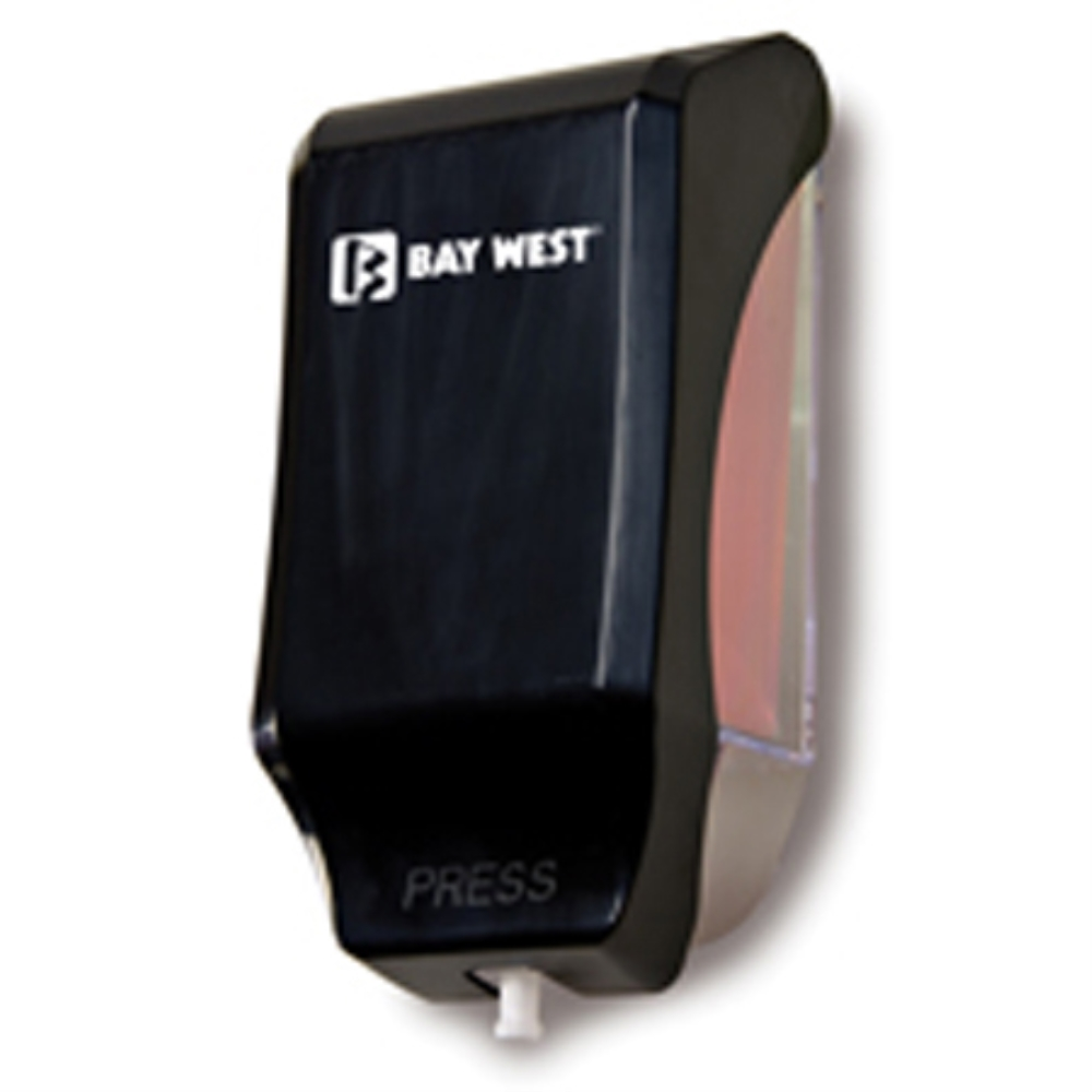 BAYWEST BLACK 1000ML FOAM SOAP DISPENSER