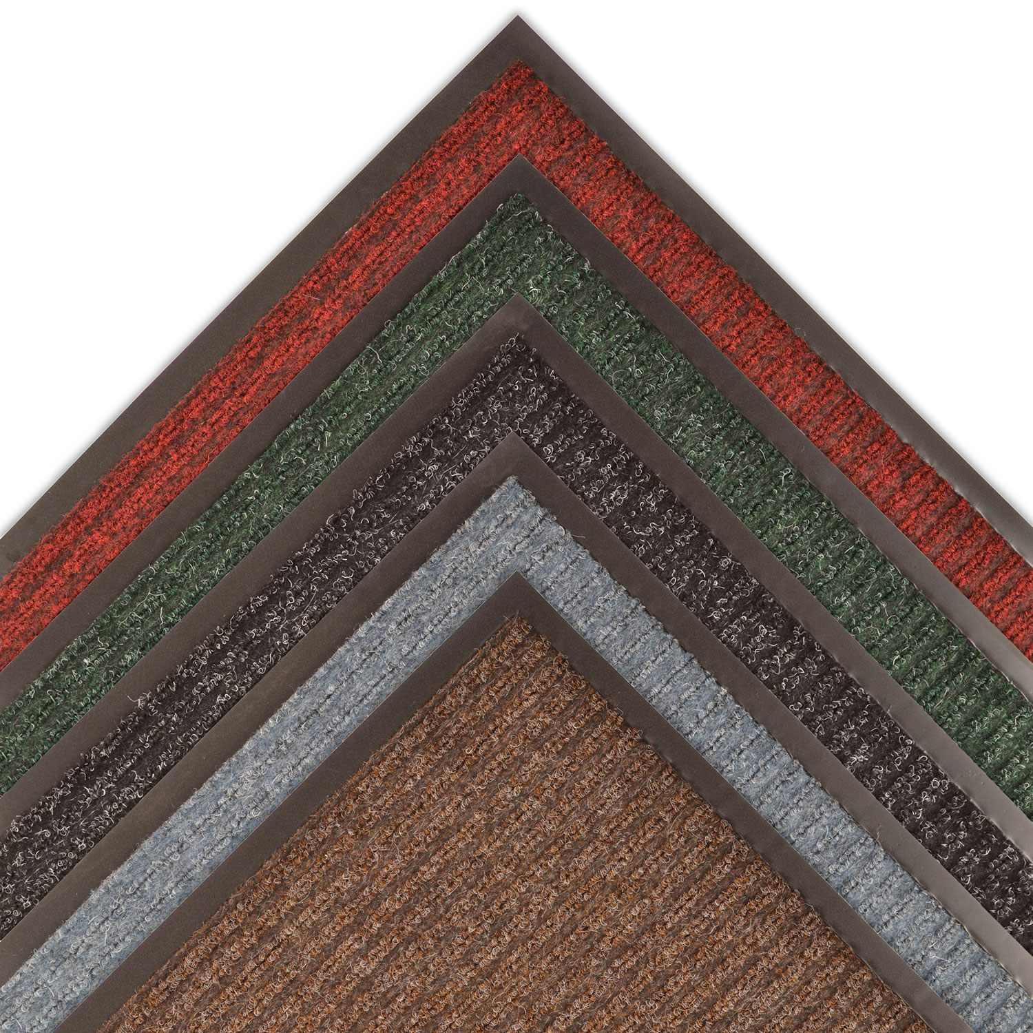 3X12 109 BRUSH STEP BROWN MAT