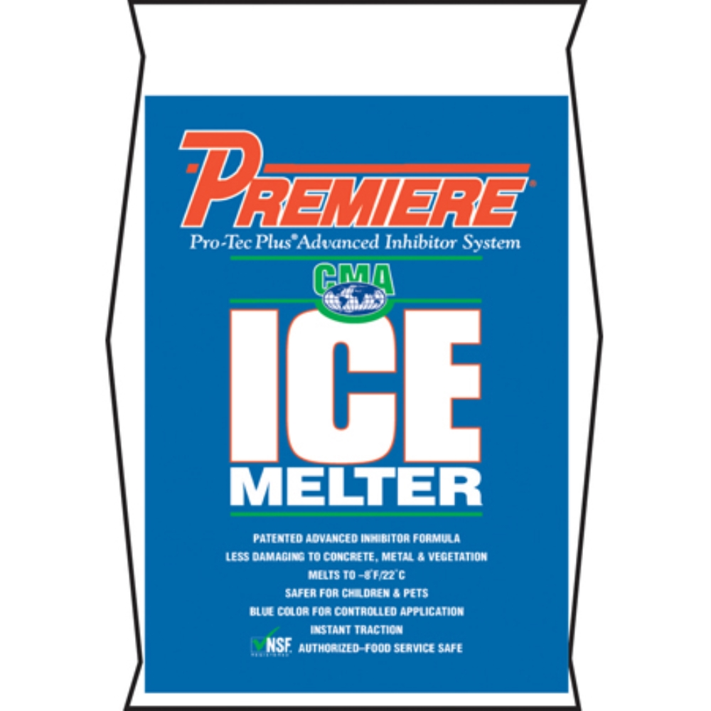 PREMIER ICE MELTER BAG 50# 49/SKID