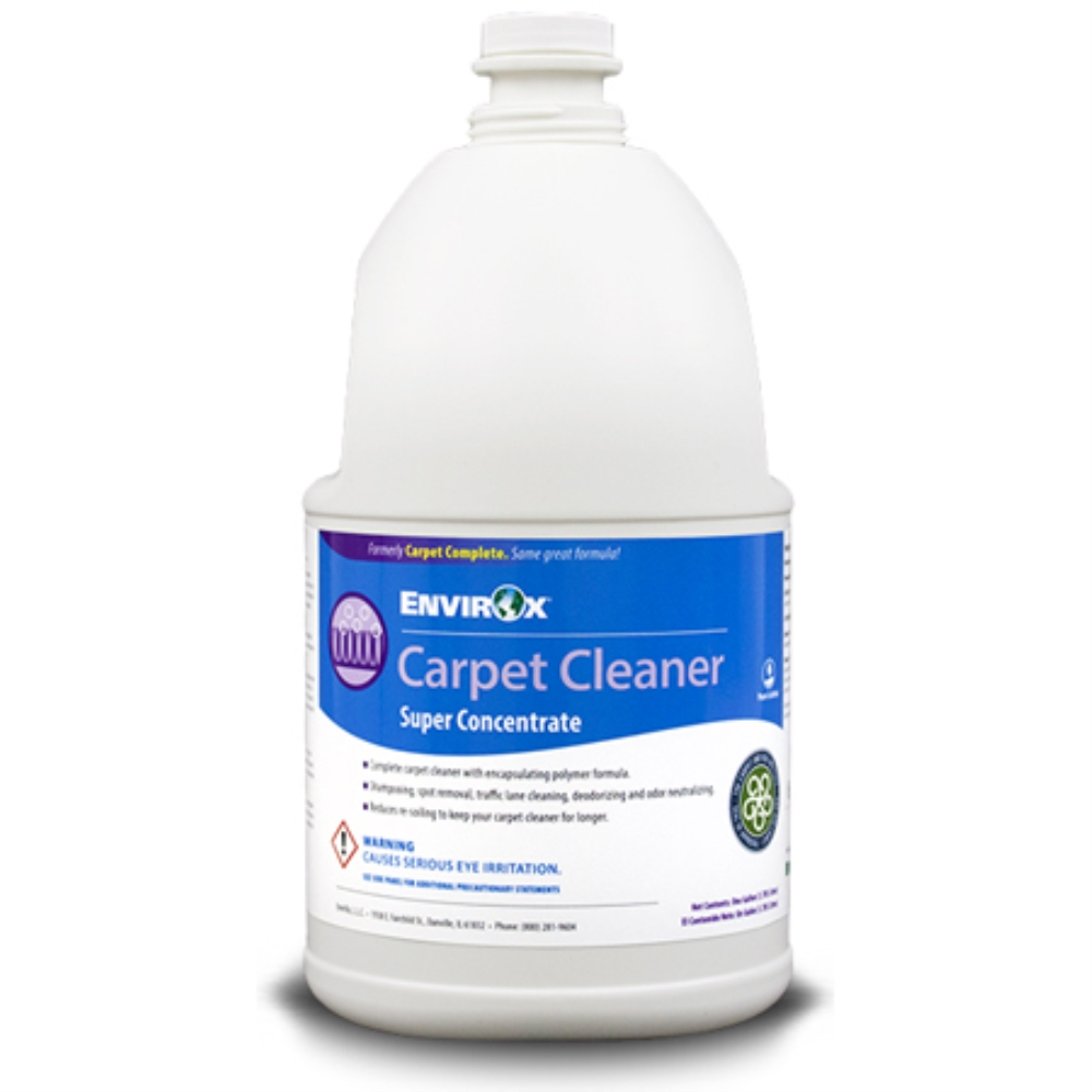 CARPET CLEANER CONCENTRATE(4) (REPLACES CRYSTAL CARPET)
