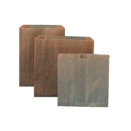 "6141 KRAFT WAXED PAPER LINERS 9""X10""X3.25"" 250/CS FOR 6140"
