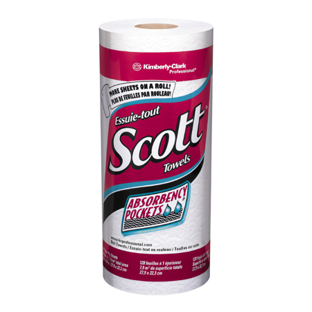 SCOTT HOUSEHOLD TOWEL W/ABSOR BENCY POCKETS (20/128)