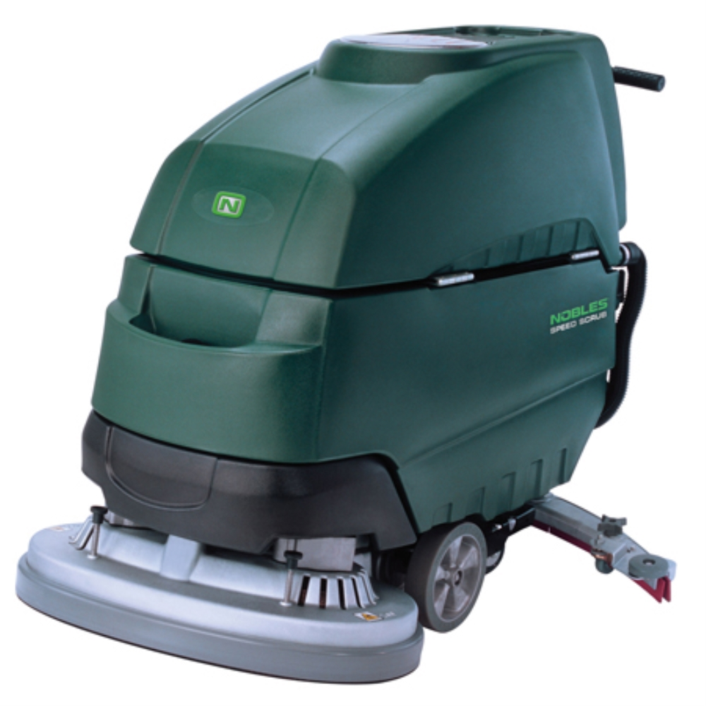 "NOB 28"" SPEED SCRUB DISC WALK BEHIND AUTOSCRUBBER"