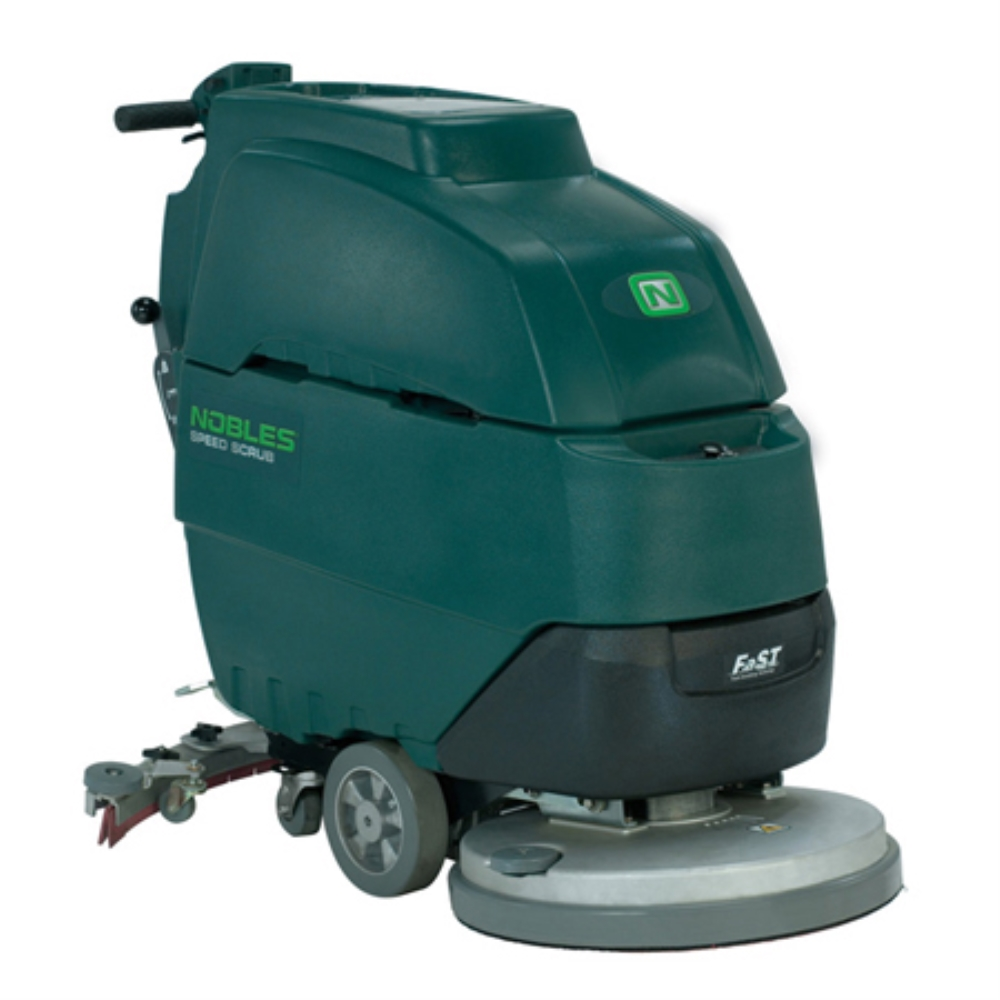 "NOB 17"" SPEED SCRUB WALK BEHIND SCRUBBER"
