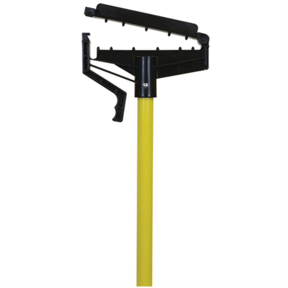 OCEDAR QUICK CHANGE YELLOW FIBERGLASS MOP HANDLE(HANDS