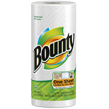 BOUNTY ROLL TOWELS 30/CS 40/roll(76230 replaces 95028)