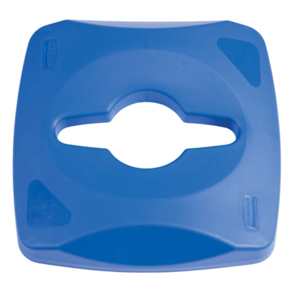 RCP UNTOUCHABLE SINGLE STREAM LID BLUE(FITS RCP356973)