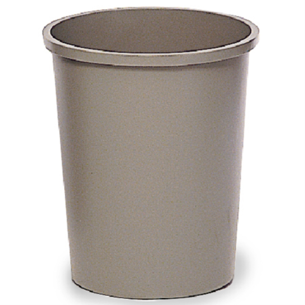 RUBBERMAID 44 3/8QT ROUND WASTEBASKET