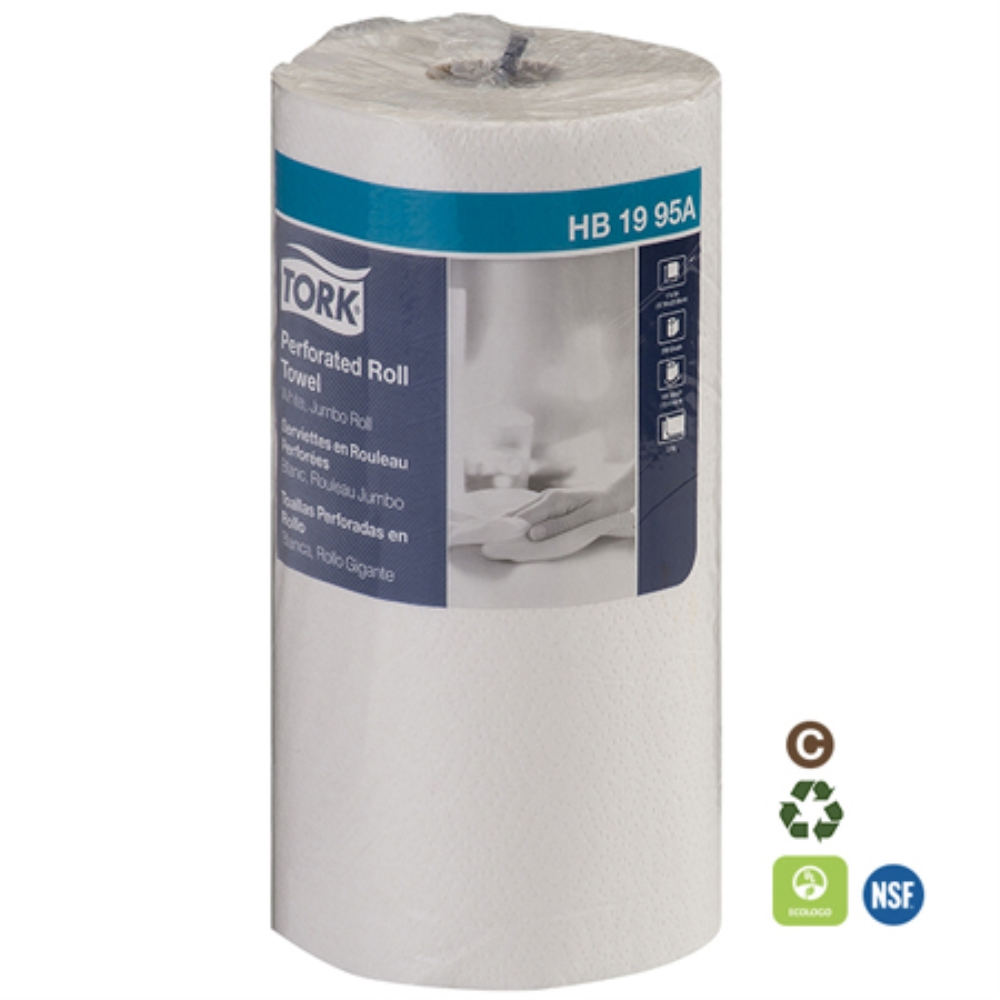 TORK HOUSEHOLD ROLLTOWELS 12ROLL/210SHEETS