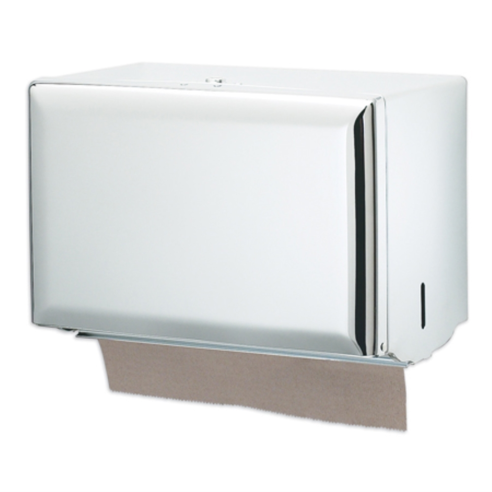 SINGLEFOLD TOWEL DISPENSER, WHITE 10-3/4X6X7-1/2