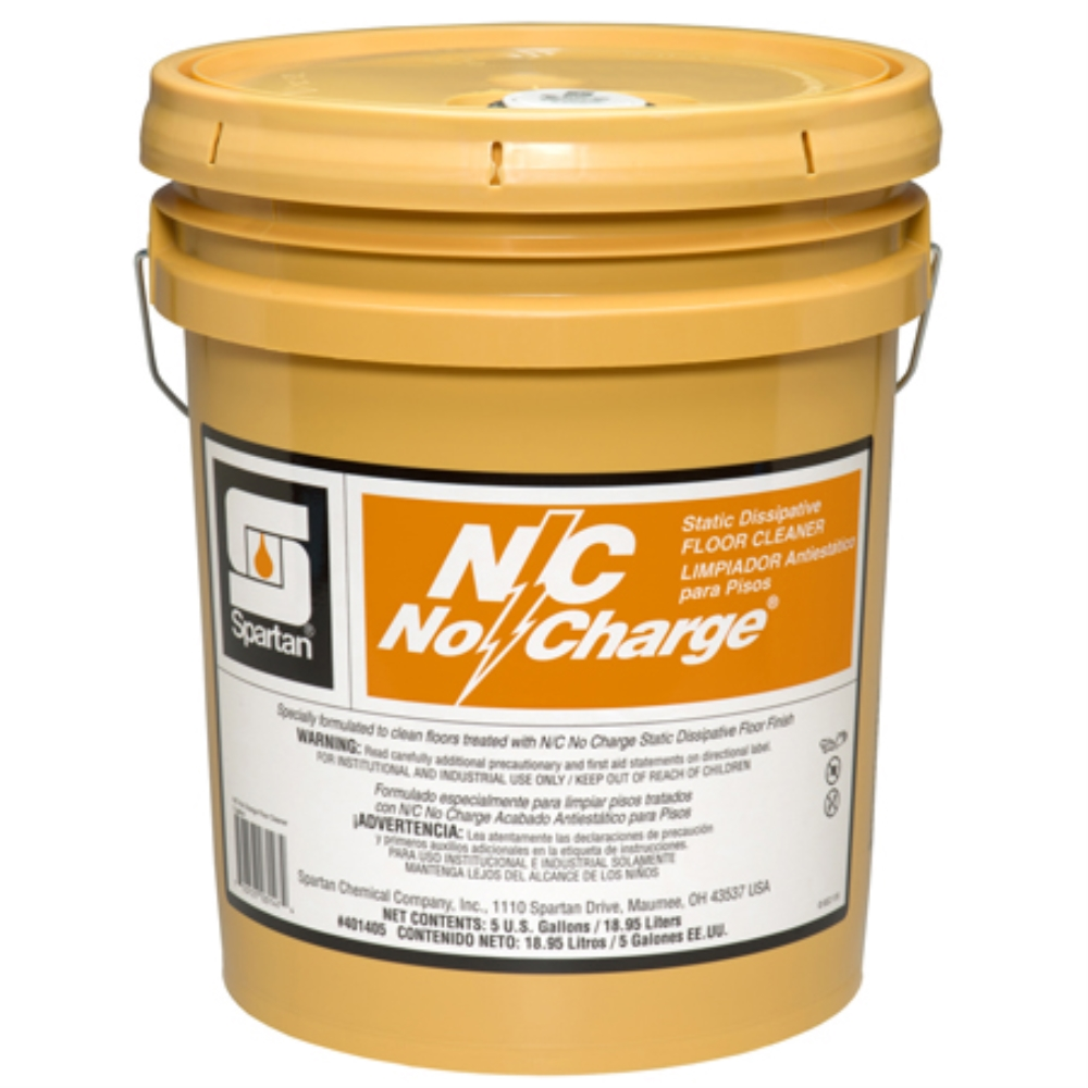 SPARTAN N/C NO CHARGE CLEANER (5GAL)GOLD PAIL