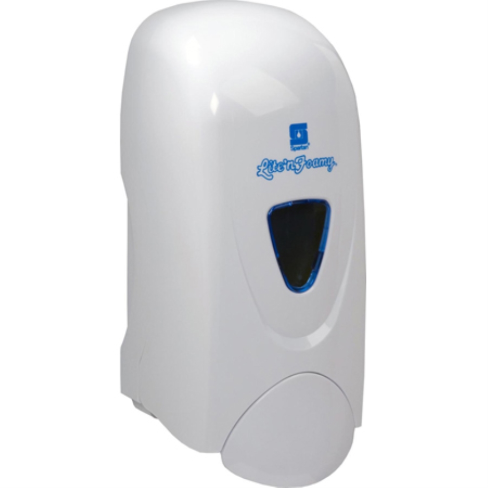 LITE N FOAMY WHITE DISPENSER