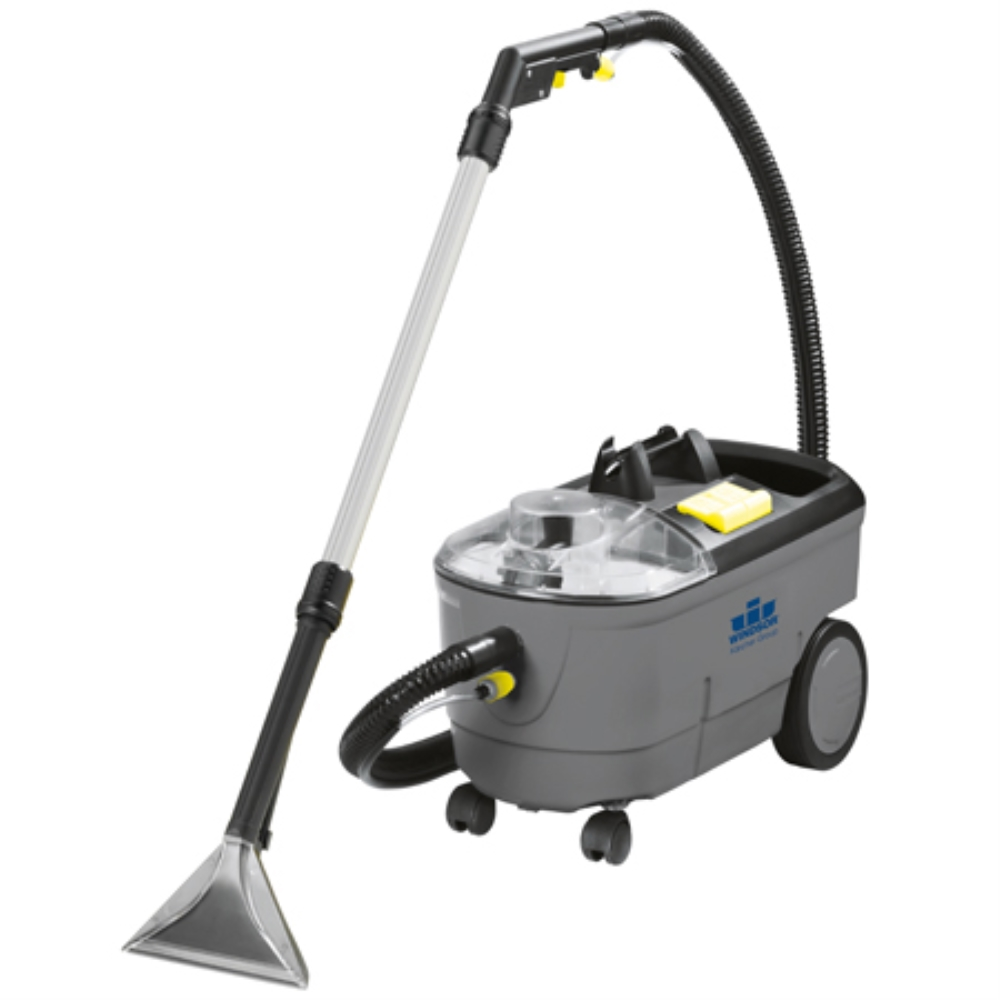 WIN PRIZA CARPET EXTRACTOR W/UPRIGHT SPRAY WAND AND HAND